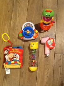 Baby's first toys