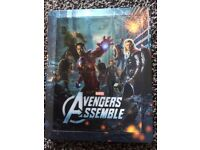 Avengers 2D & 3D Lenticular blu ray steelbook