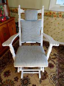 Older Wide Glider Chair