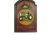 John Deere wooden picture brand new