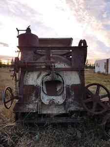 Antique cement mixer