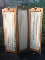 Privacy Screen / Room Divider - Wooden Hand Made - PU Orillia