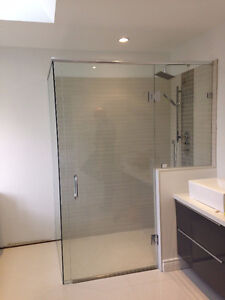 Frameless Shower Glass Doors Enclosures bathtubs - Mirrors etc. Kitchener / Waterloo Kitchener Area image 7