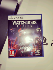 watch dogs legion ps5 brand new