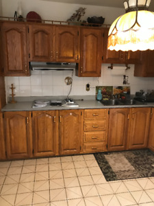 complete kitchen cabinets !!!