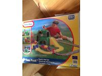 Little Tykes Road and Rail Set
