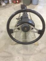 Kenworth tilt/telescope steering column