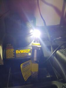 Crystal White Light Bulbs for Car Hid Kit LED Light Free Ship