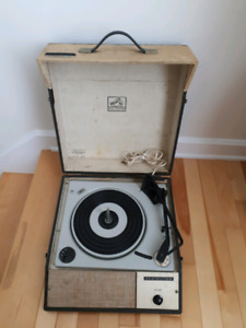 Working 1960s Record Player RCA VICTOR