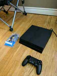 Selling barely used PS4 with controller $300