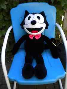 """LARGE """"FELIX THE CAT"""" PLUSH WITH TAGS"""