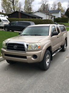 Toyota tacoma 2005, 147000 Km, 4X4, 6 cylindres, 4 Litres