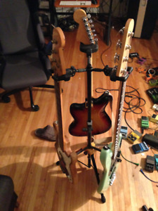 Triple and Double HERCULES Guitar/ Bass stands