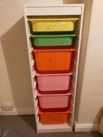 IKEA trofast storage tower