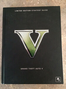 Grand Theft Auto V. Limited Edition Strategy Guide de Collection