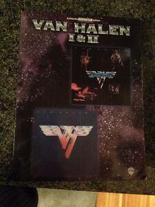 Guitar books Van Halen and 100 Greatest Hard Rock Songs
