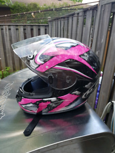 Ladies XS Motorcycle Helmet