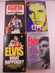 Elvis Pocket Books 4 Books The Final Years & 3 More