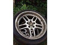 """BMW 18"""" alloys tyres"""