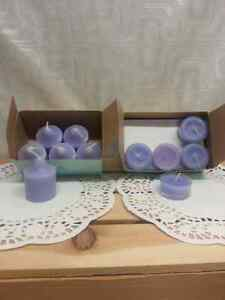 PartyLite votives and t-lights