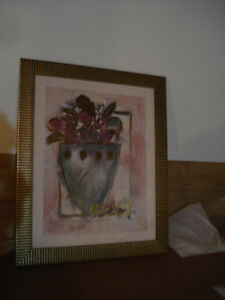 Various Framed Pictures