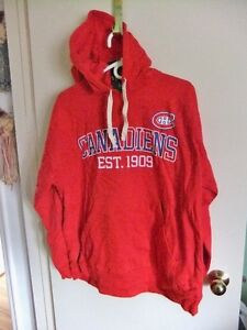 Canadiens Hoodie, Men's Size Large,  New