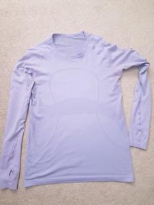 Lululemon swift tech long sleeves size 10