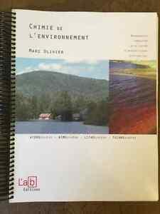 Chimie de l'environnement