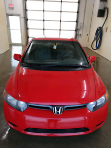 ONE OWNER HONDA CIVIC COUPE 5 SPEED  MANUAL