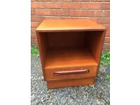 G plan Bedside Retro Solid Teak Cabinet - Vintage Excellent Condition - Can Deliver