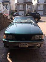Mustang gt convertible 1992