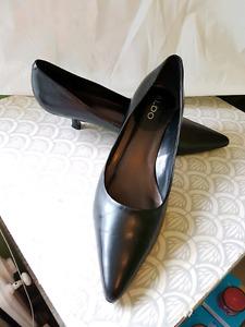 Aldo Shoes Black Kitten Heels