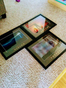 Images in Motion Picture Frame Art  Set