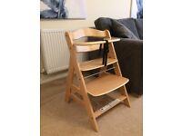 Hauck Alpha Wooden Highchair