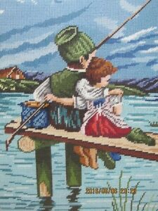 BEAUTIFUL NEEDLEPOINT PICTURE now $50.00 Cambridge Kitchener Area image 1