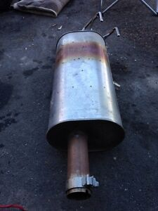 Dual exhaust for Dodge Ram