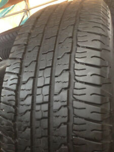 4 Goodyear Summer tires 265-70-17