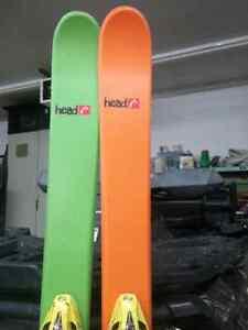 Head downhill skis size 148 cm