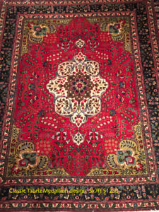 9  handmade rugs with a huge discount from Caspian Rugs Centre!