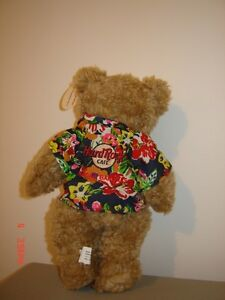 Collectible Hard Rock Cafe Teddy Bear - with tags London Ontario image 3