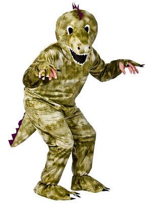 New Adult Dinosaur Dino T-Rex Deluxe Animal Mascot Big Head Fancy Dress Costume (Adult Dino Costume)