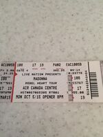 Two tickets - Madonna Rebel Heart Tour
