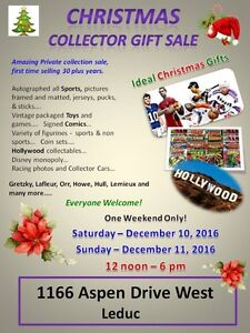 CHRISTMAS PRIVATE COLLECTOR SALE-TOYS AND SPORTS