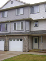 Executive 3 bdrms with 2 1/2 bath unfurnished townhome available