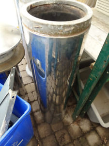 """Chimney -  Pre-Fab, Chrome, 8"""" , 1 x 36"""" Section Only Remaining"""