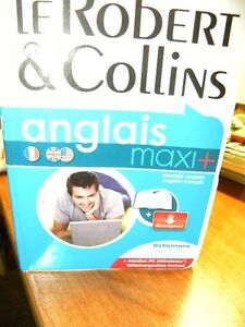 Dictionnaire Le Robert & Collins maxi+ Bilingue neuf