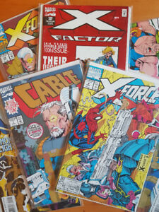 Cable/ X Force Marvel comic