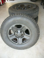 225/75/16 ** PNEUS HIVER ** FIRESTONE WINTER FORCE ** SNOW TIRES