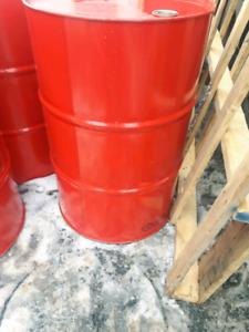 Baril metal 45 gallon