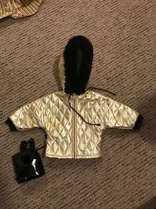 "15"" doll Snow jacket and backpack"